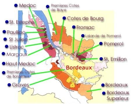 Bordeaux Et Vindistrikt I Saerklasse Bagsvaerd Vinhandel