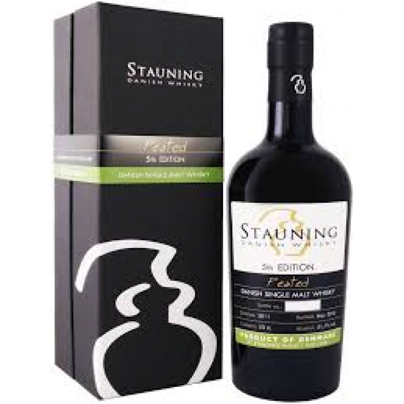 Stauning, Peated 2nd Edition - Single malt whisky