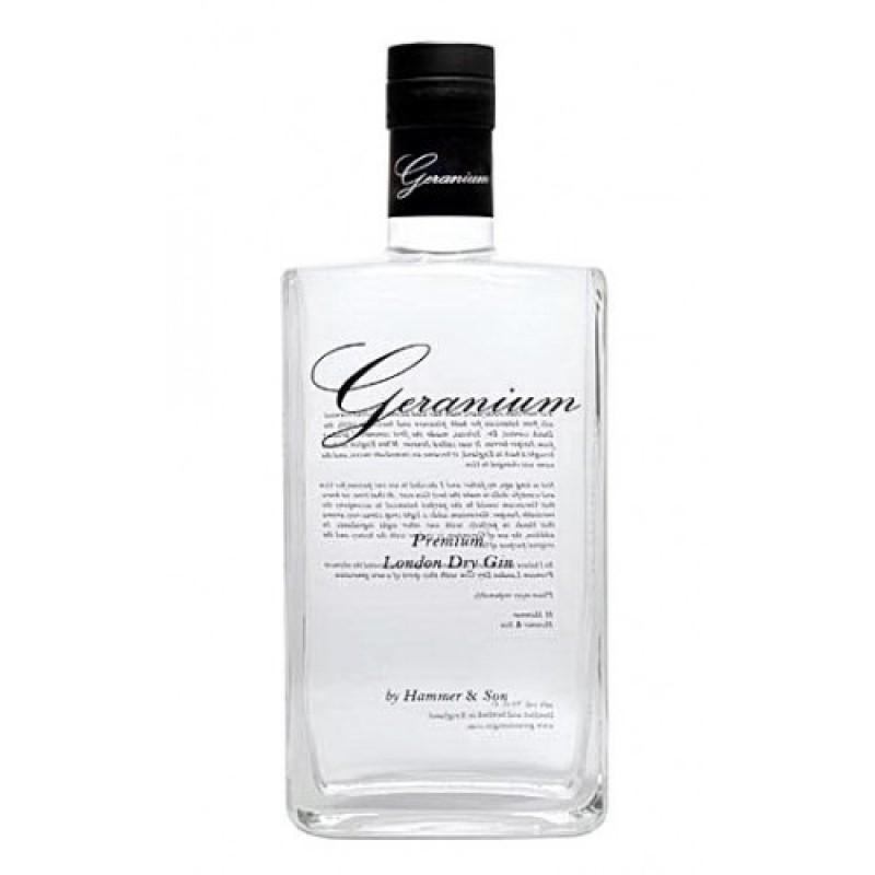 Geranium Gin 44%, Gaveæske med 4 OH Deer Tonic