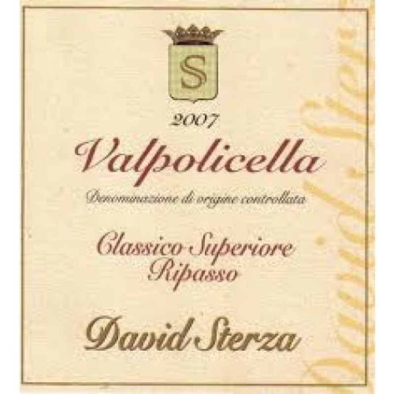 David Sterza, Valpolicella, Classico Superiore, Ripasso 2017
