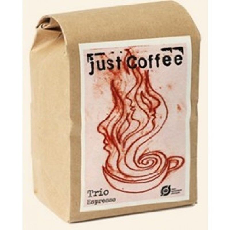 Just Coffee, Espresso Trio 250g ØKO-35