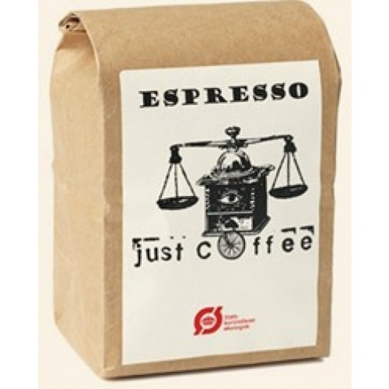 Just Coffee, Espresso Nico 250g ØKO-35