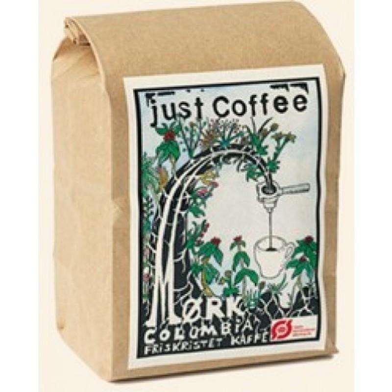 Just Coffee, Mørk Columbia 250g ØKO-35