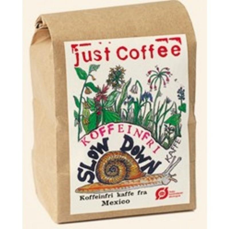 Just Coffee, Slowdown koffeinfri 250g