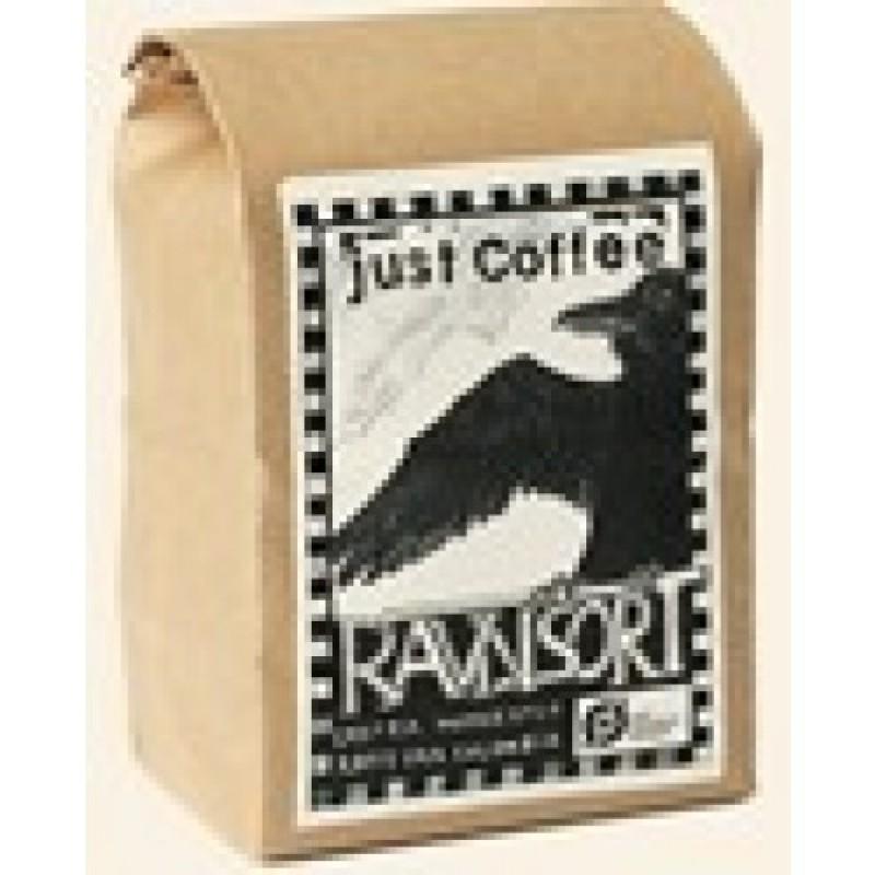Just Coffee, Ravn Sort Espresso 1 kg ØKOLOGISK