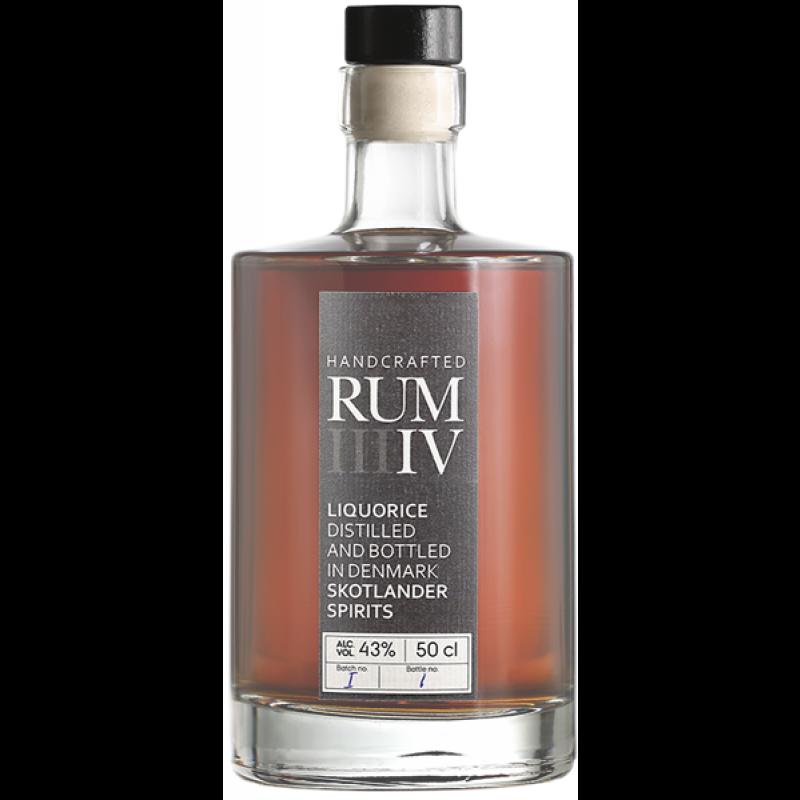 Skotlander Rum IV, Liquorice Rum BATCH 1 FLASKE 1