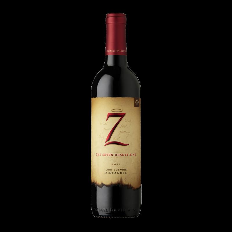 Seven Deadly Zins, Zinfandel, Michael David 2017