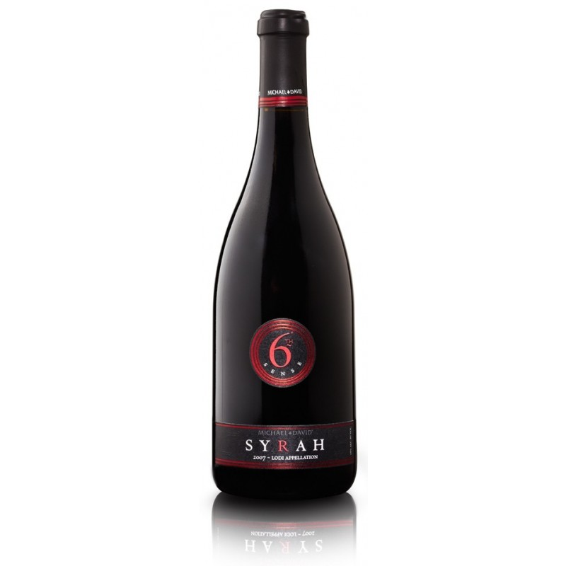 6 Sense Syrah 2016, Michael and David Winery
