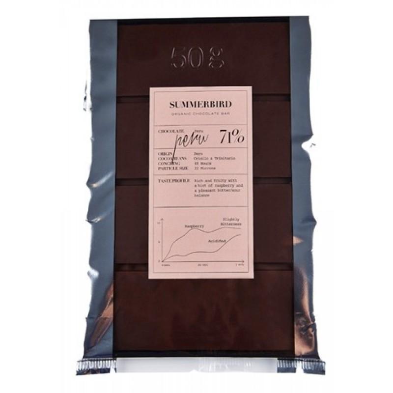 Summerbird, Peru 71% Chokoladebar 200 gr.-35