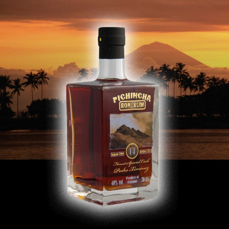 Pichincha, Finest Special PX Cask rum, 14 års