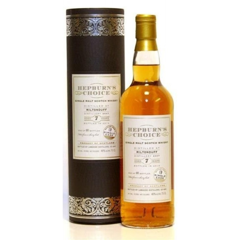 Hepburn´s Choice, Single Malt, Miltonduff 7 års-35