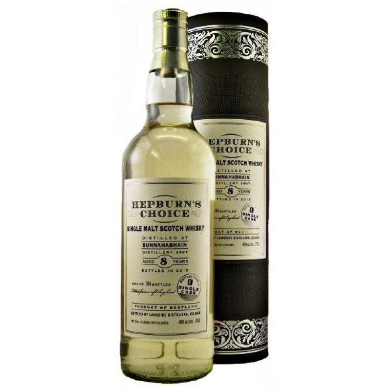 Hepburn´s Choice, Single Malt, Bunnahabhain 8 års