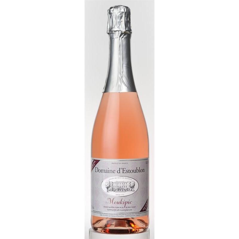 Domaine d´Estoublon Moukipic Alkoholfri Mousserende Rosé