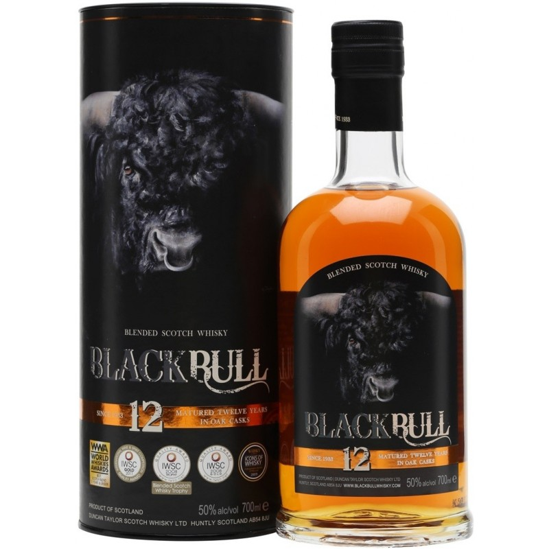 Black Bull Kyloe, 12 Y.O. Duncan Taylor, Blended Scotch Whisky-35