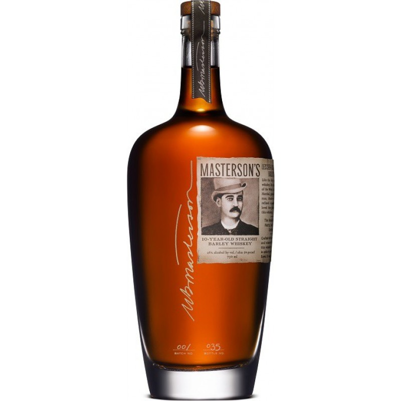 Masterson´s 10 year old, Straight Barley Whiskey-35