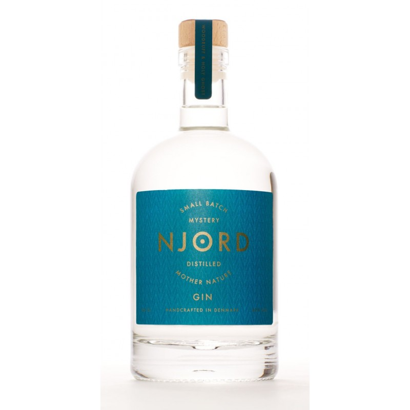 Njord Mystery Gin, Distilled Mother of Nature, Small Batch