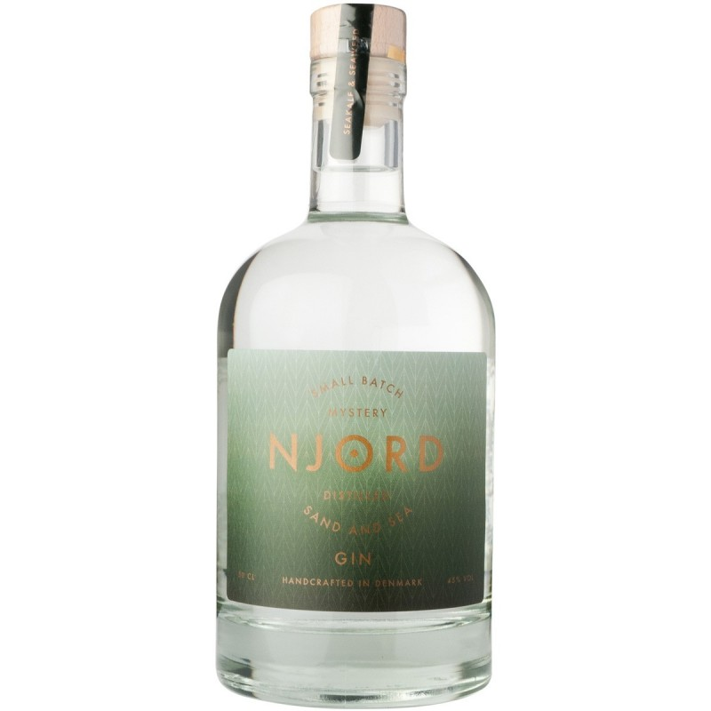 Njord Mystery Gin, Distilled Sand and Sea, Small Batch
