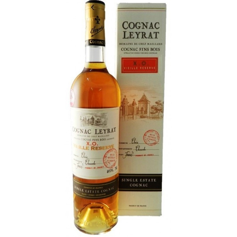 Domaine Leyrat, VIEILLE RESERVE XO , Single Estate Cognac-35