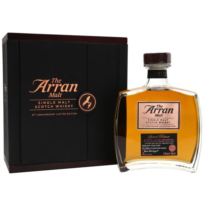 Arran, Single Malt 21st Anniversary Whisky