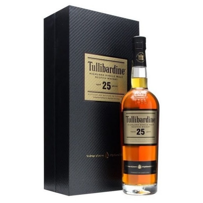 Tullibardine, 25 Years Old, Single Highland Malt Whisky