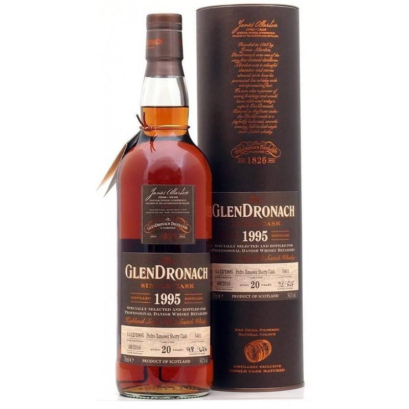 GlenDronach, Single Cask 1995, 20 års, Single Malt Whisky