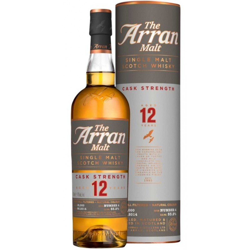 Arran, Single Malt, Cask Strength, 12 Years Old Single Island Malt, Batch 5-35