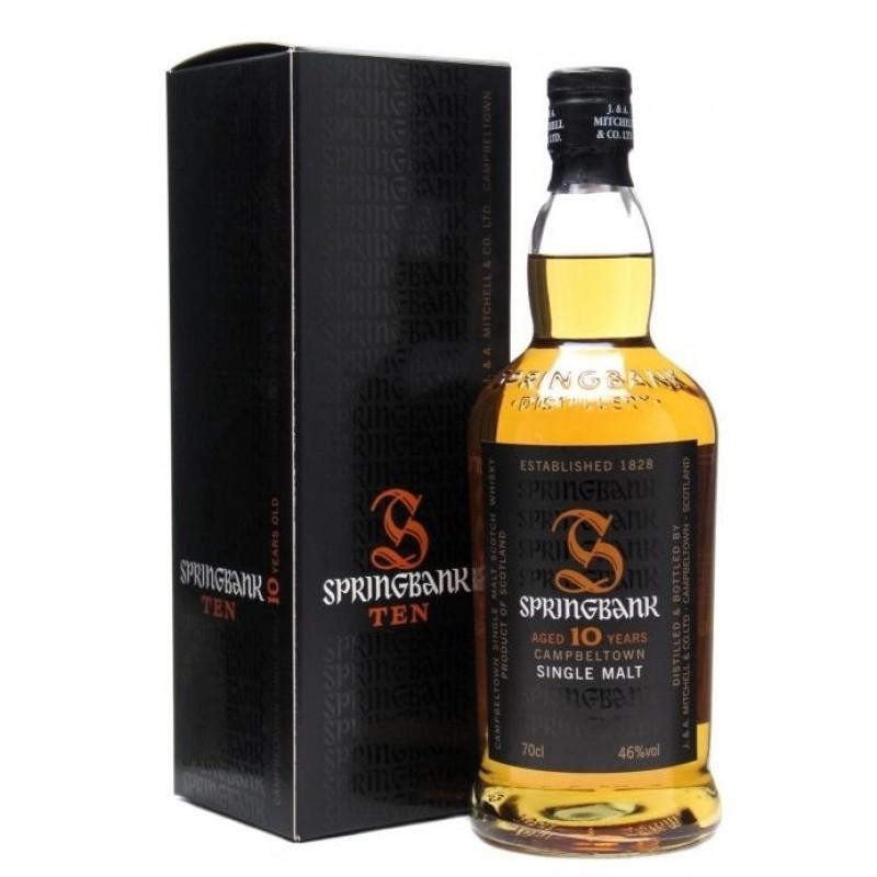 Springbank 10 års, Single Malt Whisky-35