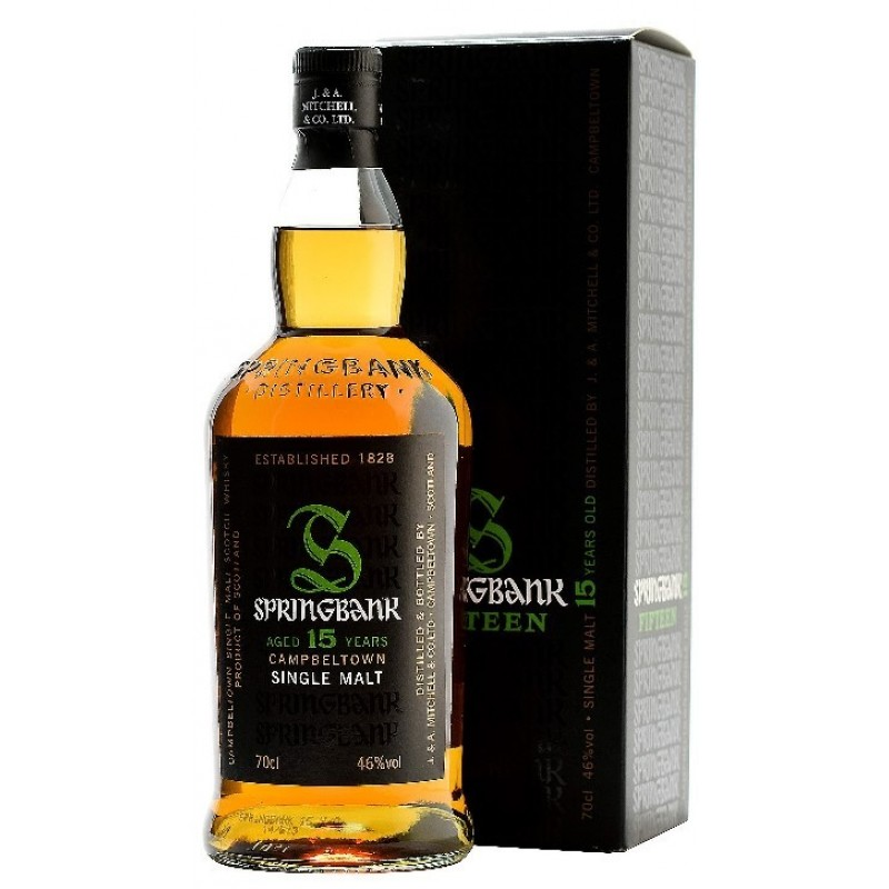 Springbank 15 års, Single Malt Whisky-35