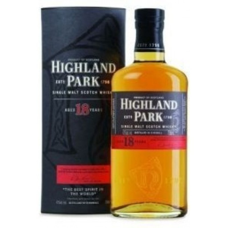 Highland Park 18 års Malt Whisky-35
