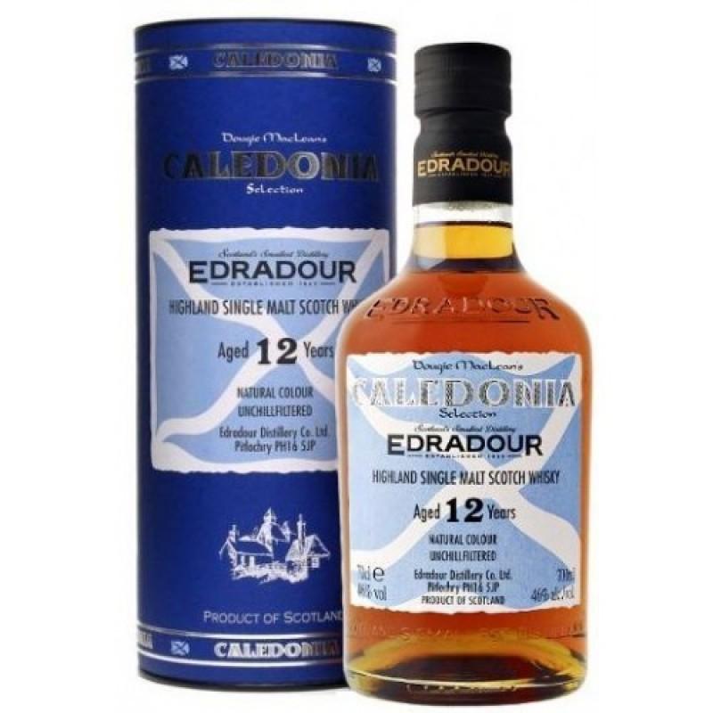 Edradour Caledonia, Highland single malt whisky, 12 års