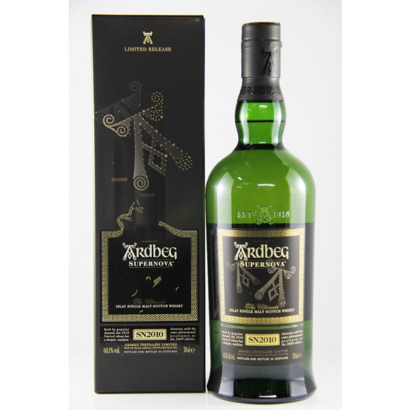 Ardbeg Supernova, SN2010, Islay Single Malt Whisky