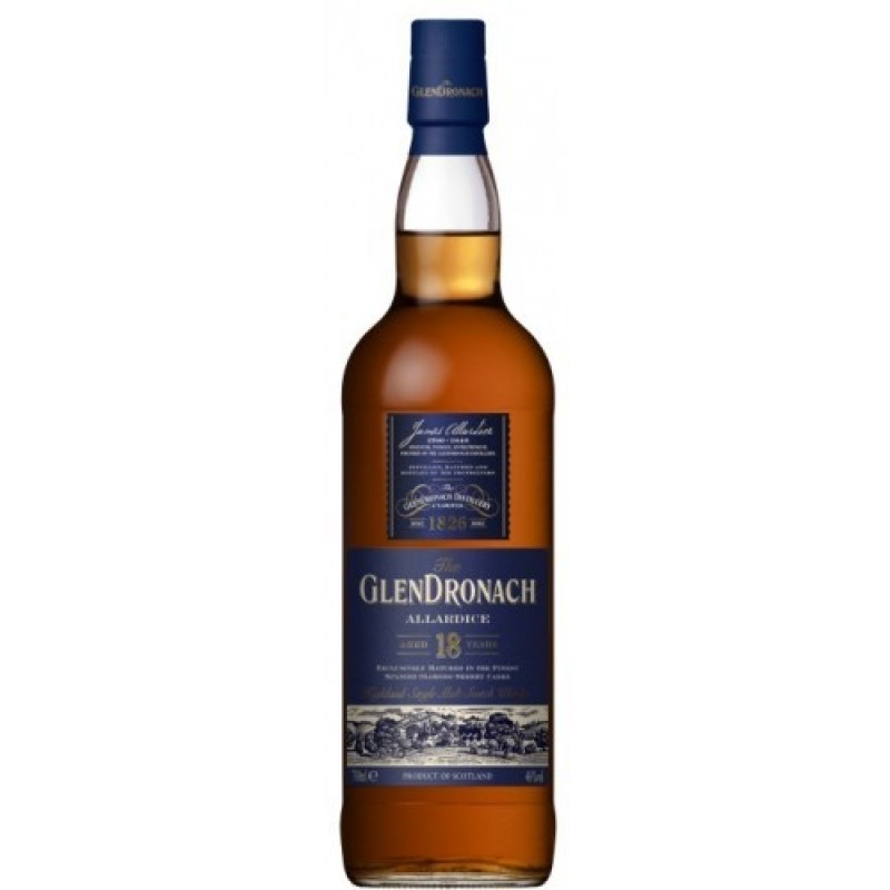 GlenDronach, Allardice, 18 Years Old Single Highland Malt