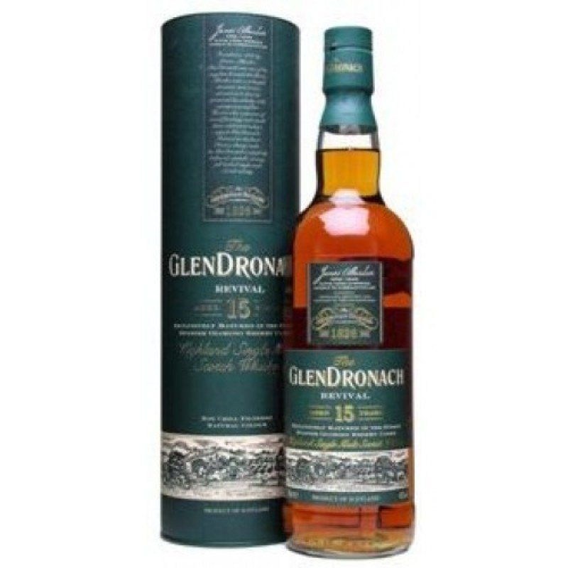 GlenDronach, Revival, 15 Years Old Single Highland Malt
