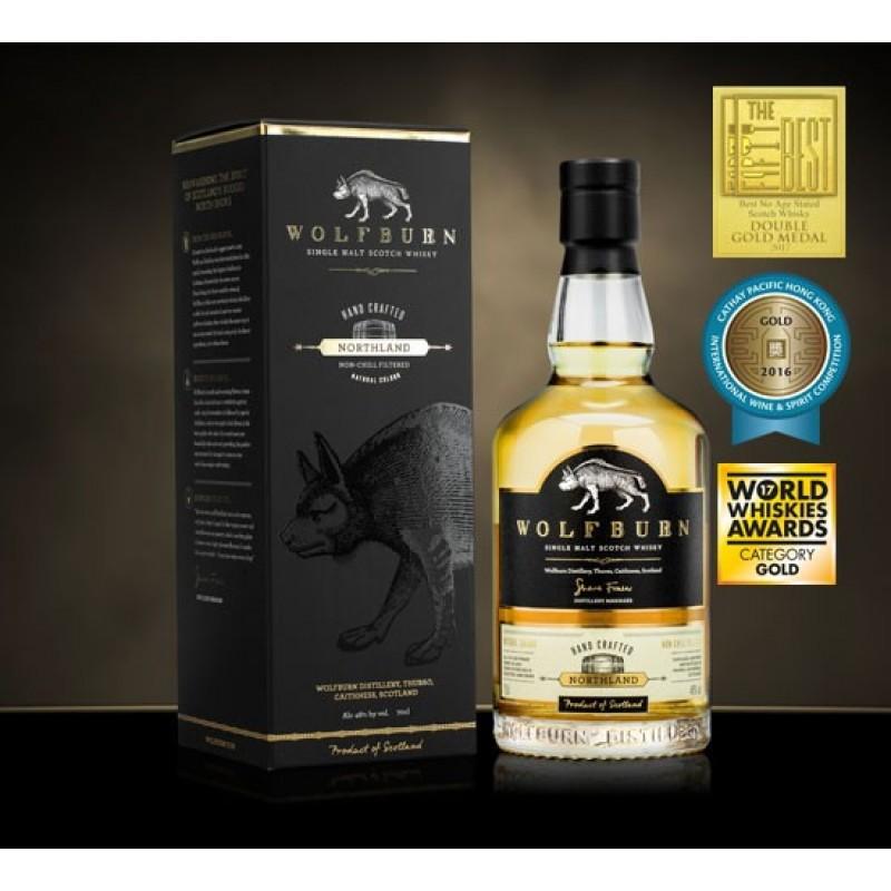 Wolfburn, Northland, Single Malt Scotch Whisky, Batch 1