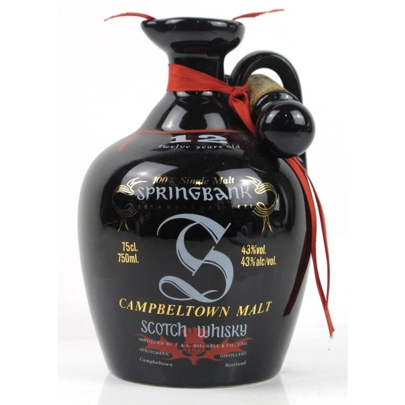 Springbank 12 års, Single Malt Whisky, Ceramic Decanter
