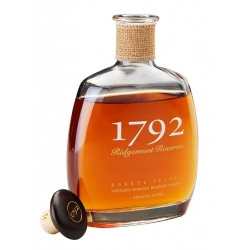 Ridgemont Reserve, 1792, Small Batch Bourbon Whiskey