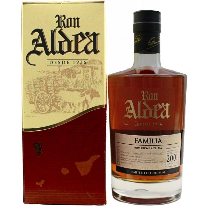 Ron Aldea, Tradicion vintage 2001, Limited Edition Rum