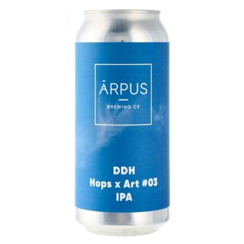 Arpus Brewing Co., DDH Hops x Art #03 IPA
