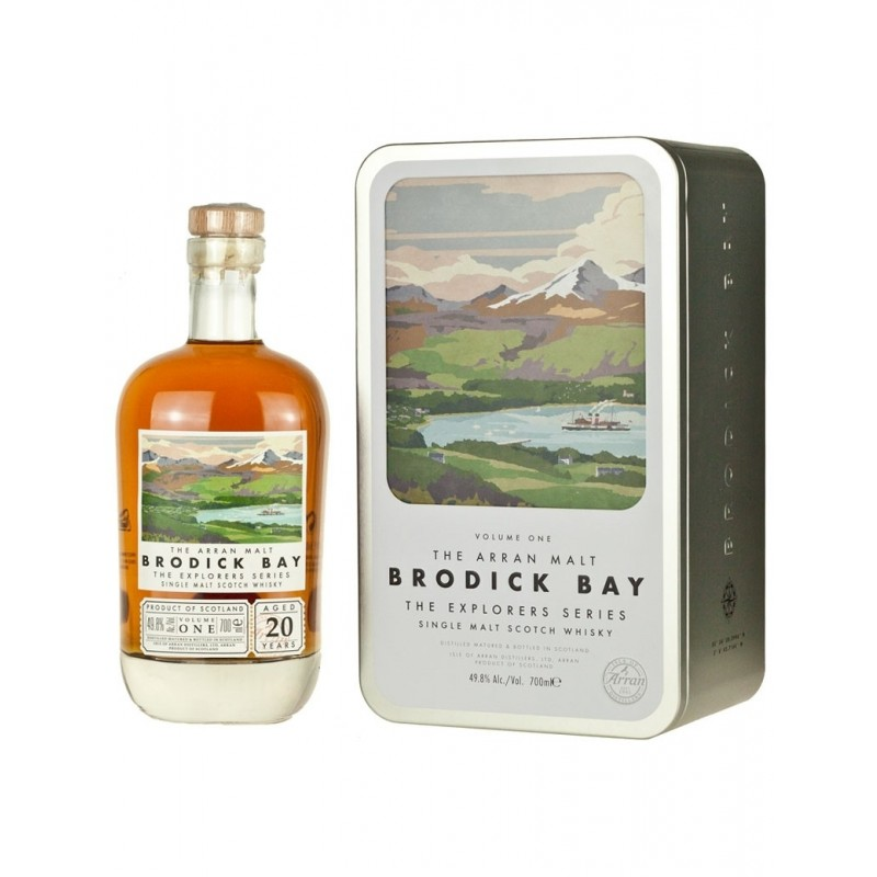 Arran, Brodick Bay, 1 edt. The Explores Series, Single Island Malt Whisky 20 års-38