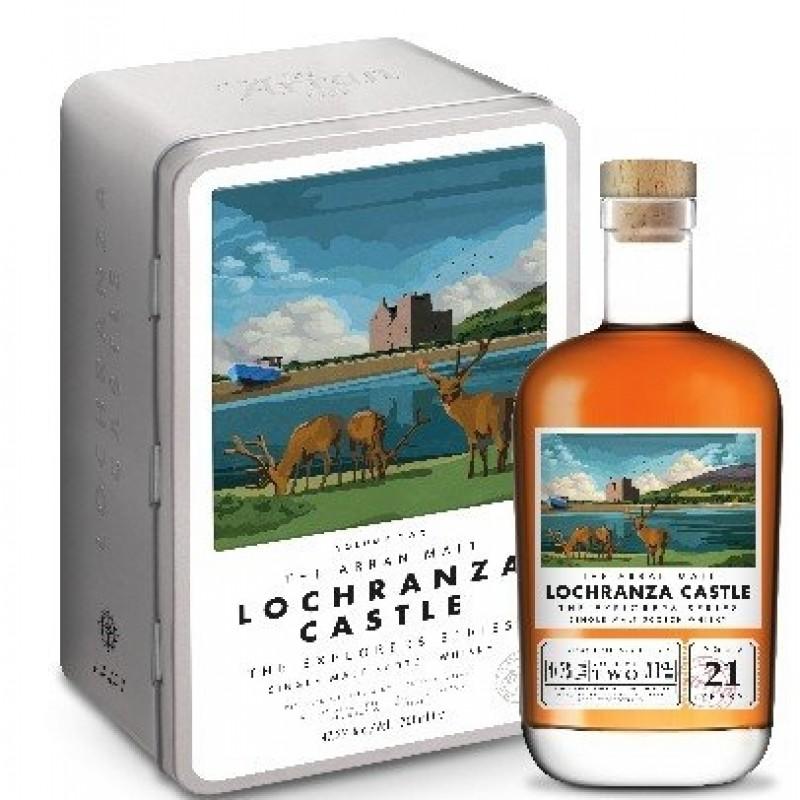 Arran, Lochranza Castle, 2 edt. The Explores Series, Single Island Malt Whisky 21 års