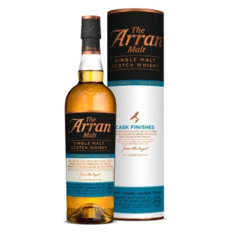 Arran, Marsala Cask Finish, Single Malt Whisky Island Malt-37