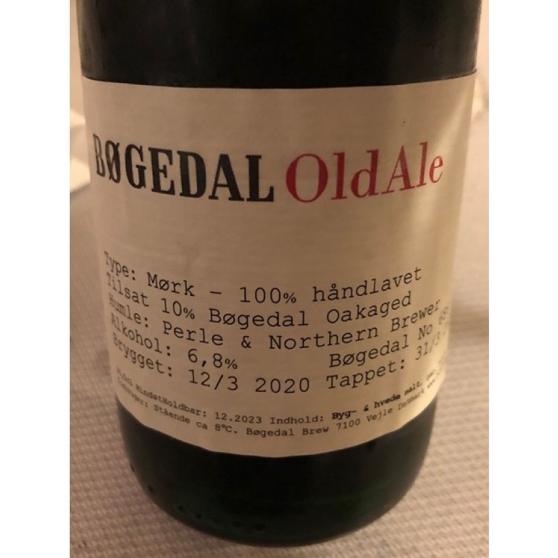 Bøgedal, Old Ale - No 686