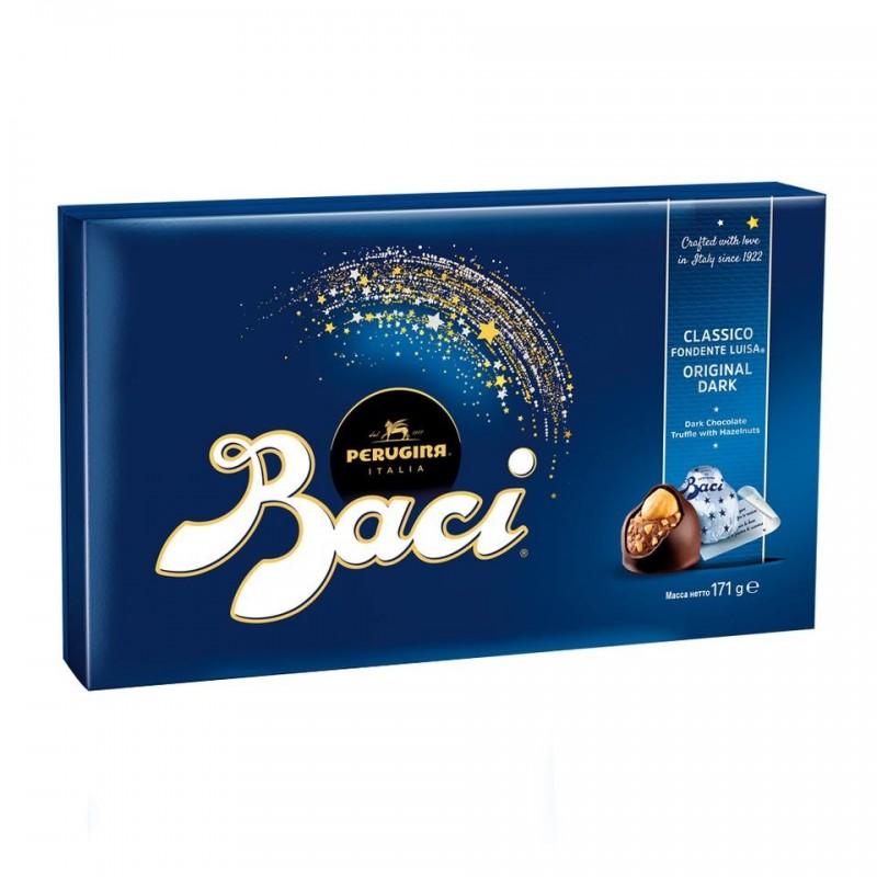 Baci, Chokoladetrøfler, Gaveæske 150 g.