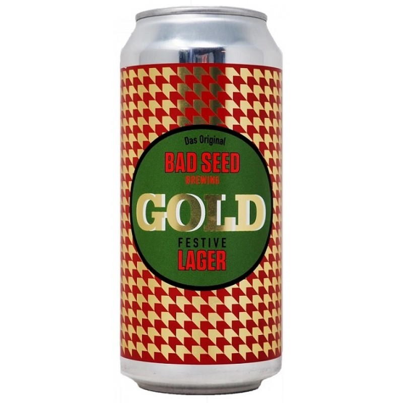 Bad Seed Brewing, Gold Festive Lager