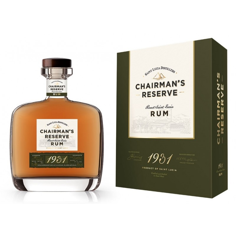 Chairman's Reserve Limited Edition 1931 Rum