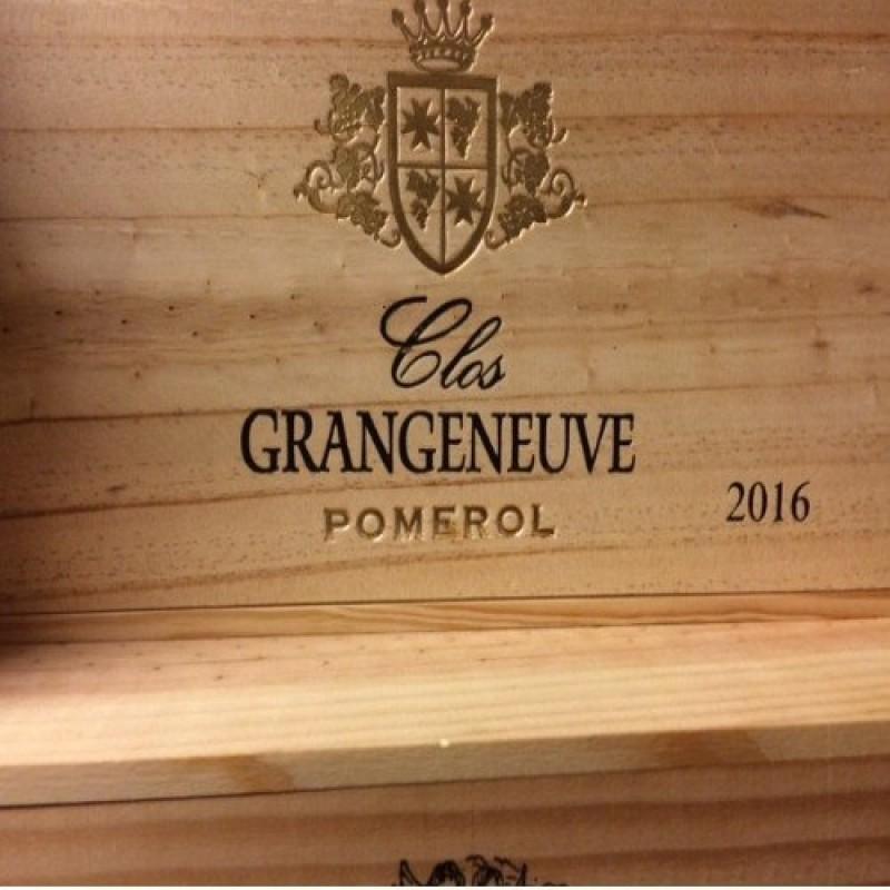 Clos Grangeneuve – Pomerol 2016.