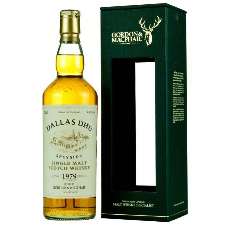 Dallas Dhu, 1979, Gordon Macphail 33 års Single Malt Whisky