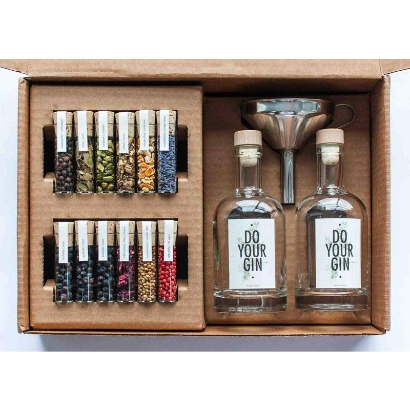 Do Your Gin, Lav din egen gin, Gaveæske