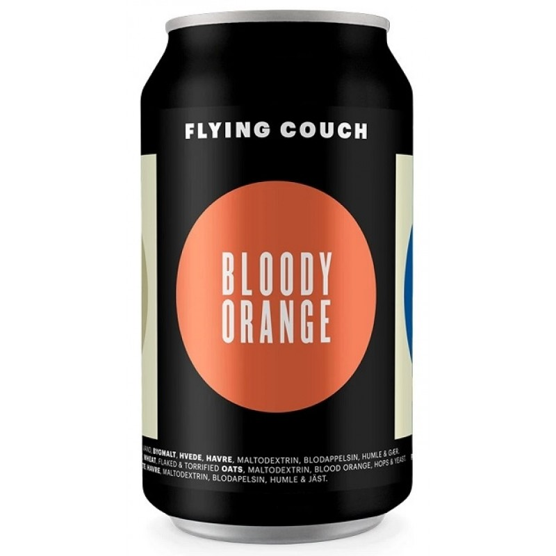 Flying Couch, Bloody Orange