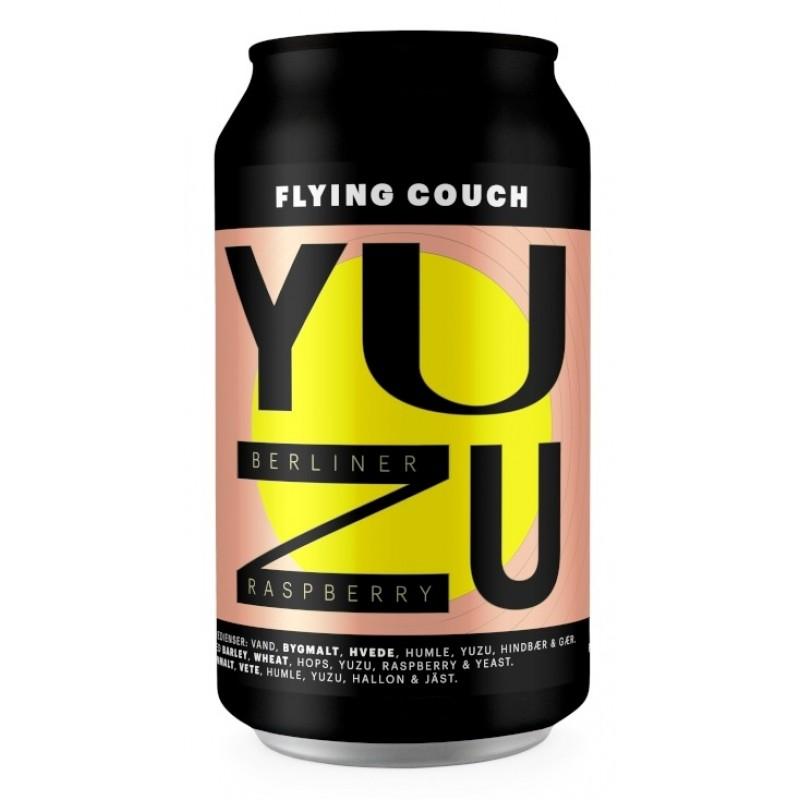 Flying Couch, Yuzu Raspberry Berliner
